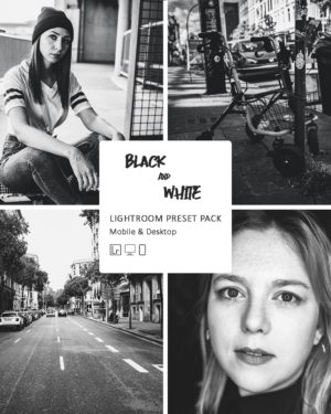Lightroom Presets Black & White