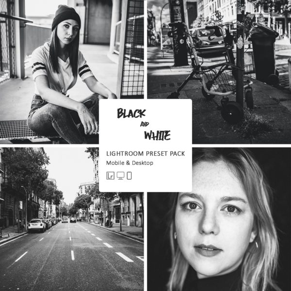Lightroom Presets Black & White